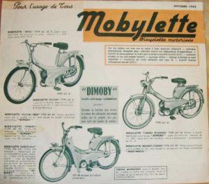1962 Motobecane brochure