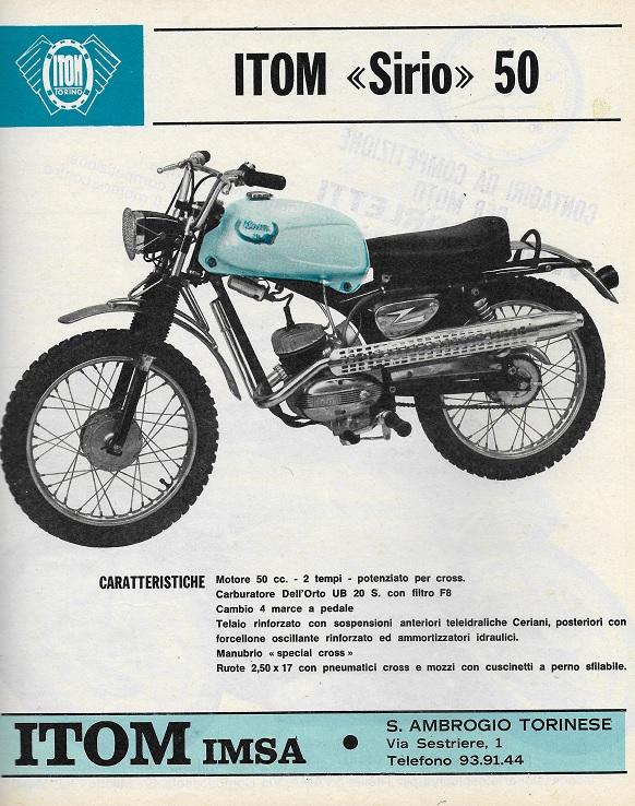 Itom Sirio on Morini Engine « Myrons Mopeds