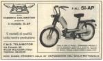 1969 FMB Telaimotor Minarelli V1 engine