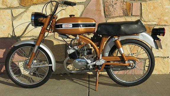 Harley Davidson Mls Leggero Sport on Morini Engine « Myrons Mopeds