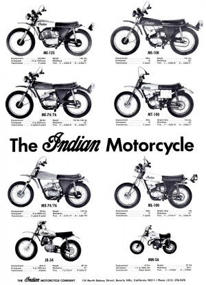 1972 Indian Motorcycles