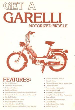 1976 Garelli Ad p1