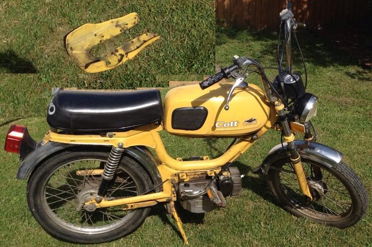 Colt With Morini Mo Engine on Morini Engine « Myrons Mopeds