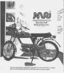 Lazer debut at 1977 New York Cycle Show