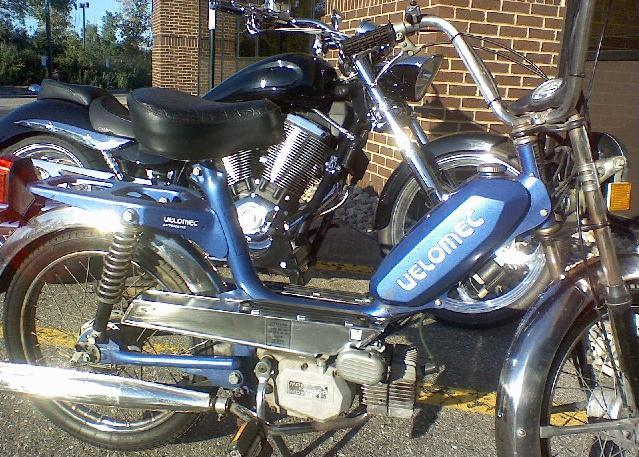 Velomec Automatic Made By Italvelo on Morini Engine « Myrons Mopeds