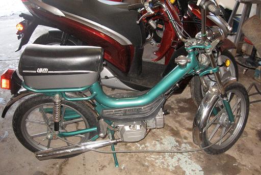 Lem Pratikal Aka Morini Chembol on Morini Engine « Myrons Mopeds
