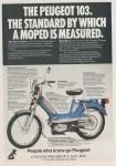 1978 Peugeot 103 Ad