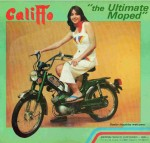1978 Califfo moped made by C. Rizzato Padova, Italy distributed by Promark Products Ohio USA