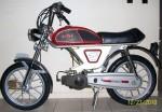 1978 Testi OKS V1 Minarelli V1 engine