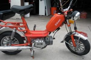 1980 F. Morini Chembol Morini MO-1 engine