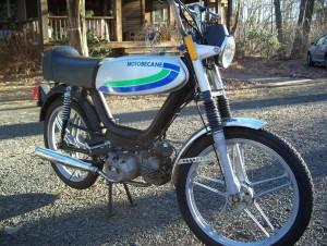 1980 Motobecane Sebring Morini MO-2 engine
