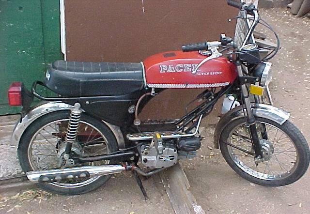 Pacer Super Sport on Morini Engine « Myrons Mopeds