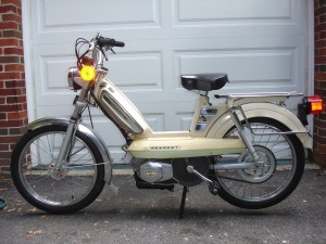 1980 Peugeot 103 LVS restored by B. Small