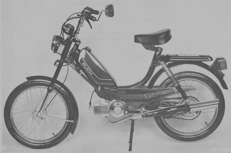 1981 Puch Series B puch parts myrons mopeds puch maxi s wiring diagram at mifinder.co