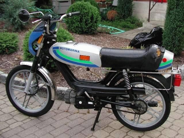 Motomarina Sebring With Morini on Morini Engine « Myrons Mopeds