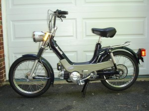 Changes nothing 1978 swinger 2 moped parts soo sexy