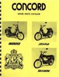 Concord parts catalog
