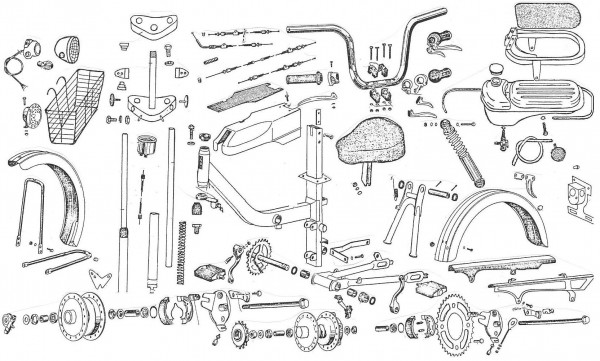 Honda Elk Grove >> Taiwan-made Moped Parts « Myrons Mopeds