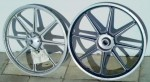 Sport Mag II wheels for Indian mopeds right side view