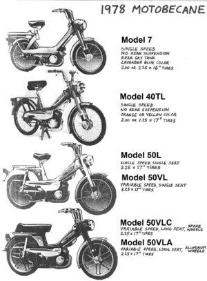 Info Motobecane 1978-79