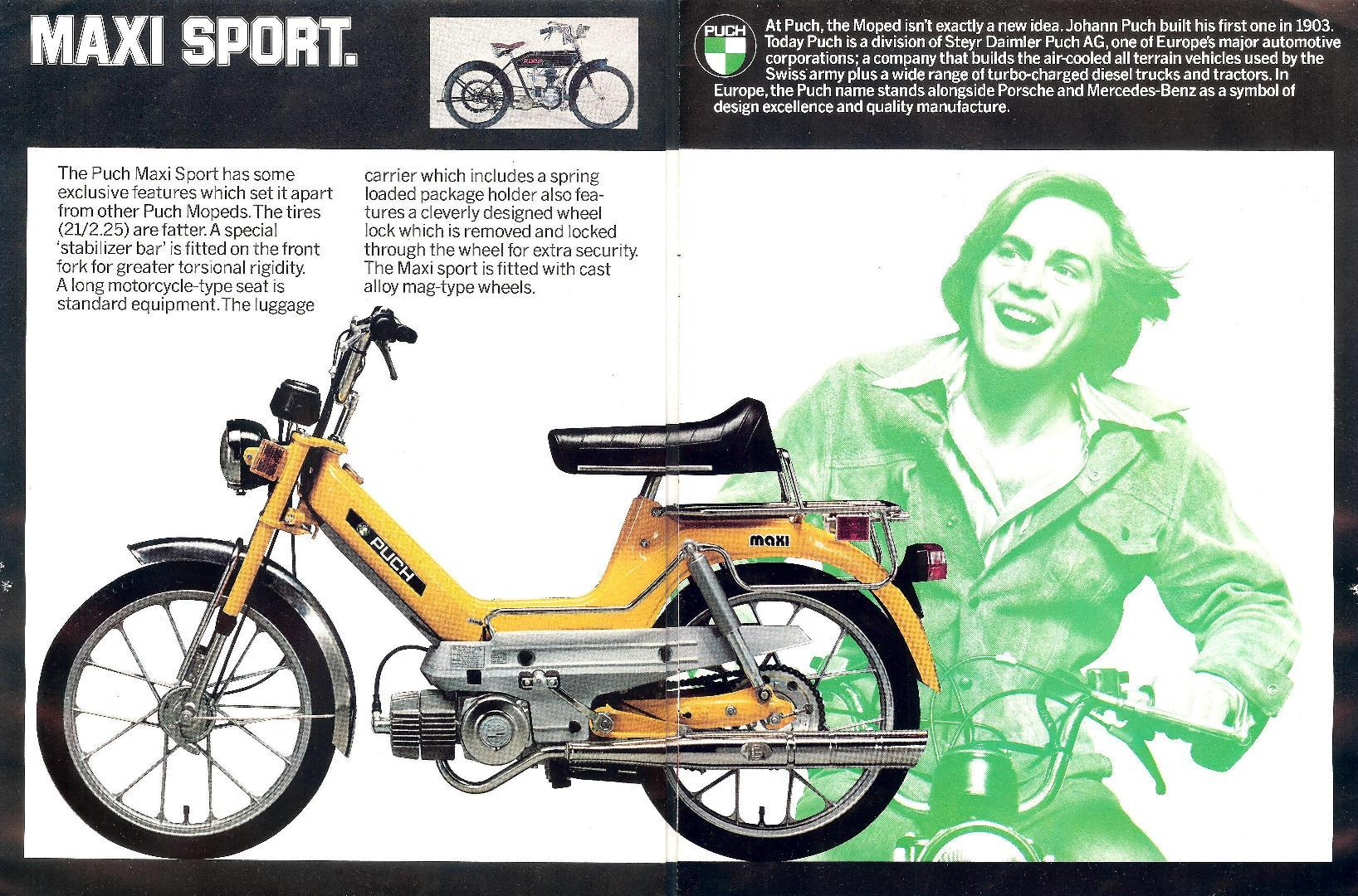 1977 puch maxi moped wiring diagram puch magnum moped