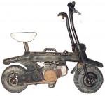 1980's Italjet Pack 2 Vespa Ciao engine was Michael Andretti's