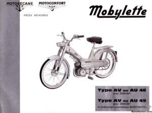 Mobylette AV 46 49