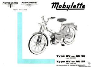 Mobylette AV AU 56 59