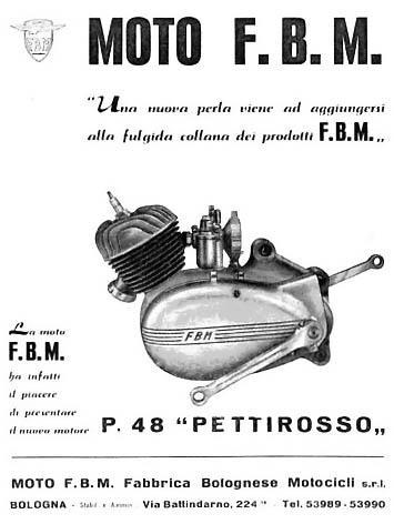 Moto F B M on Morini Engine « Myrons Mopeds