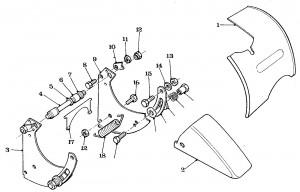 Solex Parts Figure 6