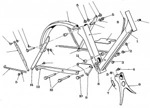Solex Parts Figure 7 Main Frame