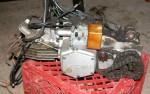 Wheel King engine left