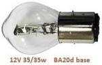 12V 35-35w BA20d bulb