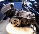 1978 K196 engine left Motoplat magneto
