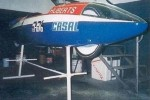 HuVo Casal record bike 50cc went 139mph