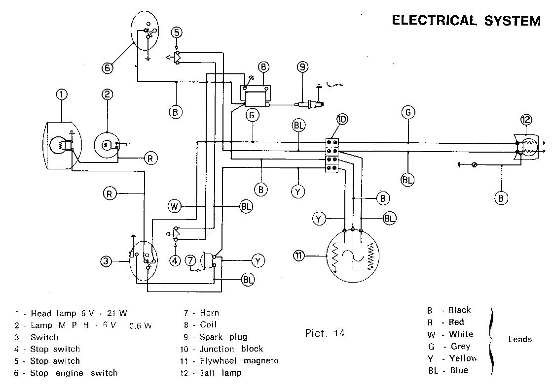 1980 ct70 wiring diagram   24 wiring diagram images