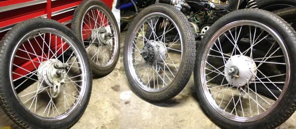 1975-1990 Tomos spoke wheels