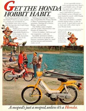 1977 Honda Hobbit Magazine Ad