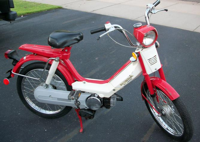 1978 Honda PA50I Hobbit honda benelux myrons mopeds 1978 honda hobbit wiring diagram at nearapp.co