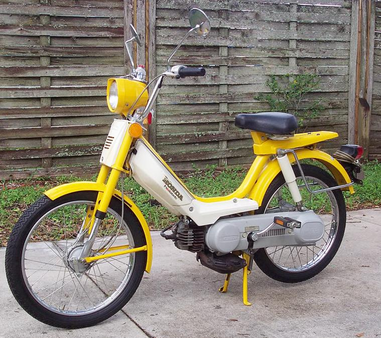 1978 Honda PA50II Hobbit honda benelux myrons mopeds 1978 honda hobbit wiring diagram at nearapp.co