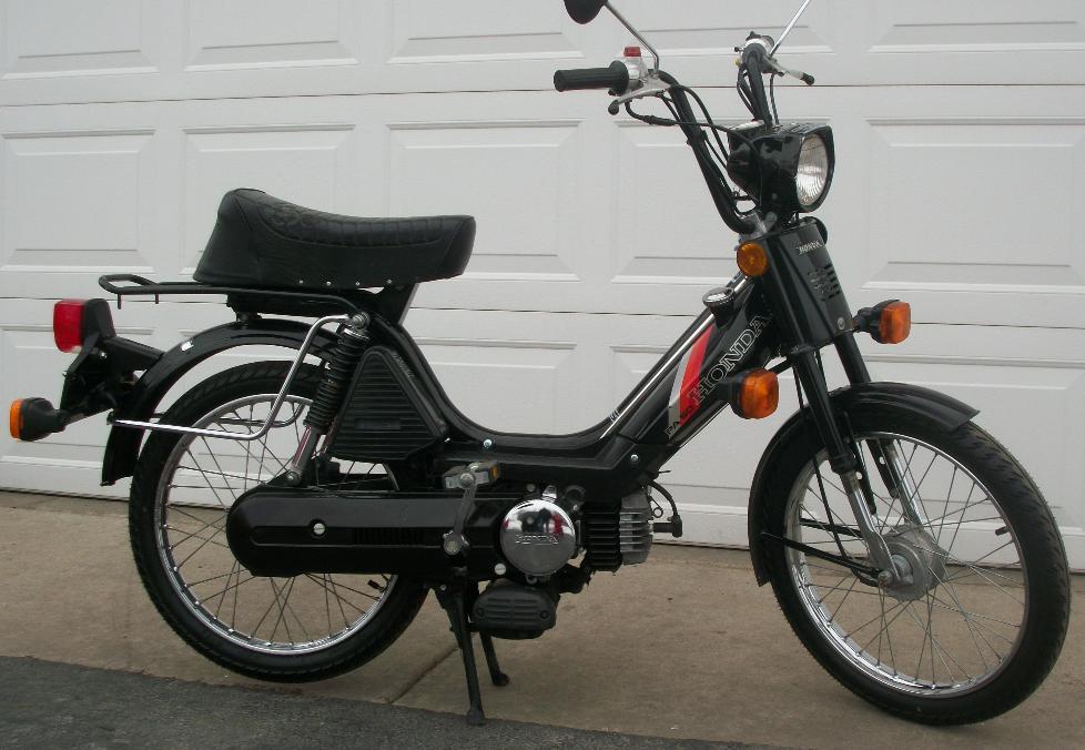 Honda Benelux  U00ab Myrons Mopeds