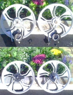 1992-1995 Tomos Wheels