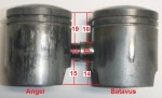 Angel and Batavus pistons