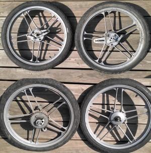 Motobecane Sebring 5-star mags