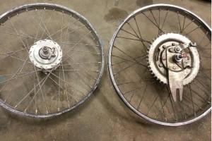 Puch spoke wheels thin