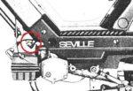 Sachs Seville M12x1 spigot left
