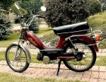 1979 Indian AMI50 burgundy w/spoke whls