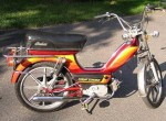 1979 Indian AMI50 burgundy w/warm stripes silver Sport Mag II whls