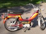 1979 Indian AMI50 burgundy w/warm stripes silver Sport Mag II whls