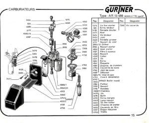 Gurtner AR13-488 parts (for AV87)